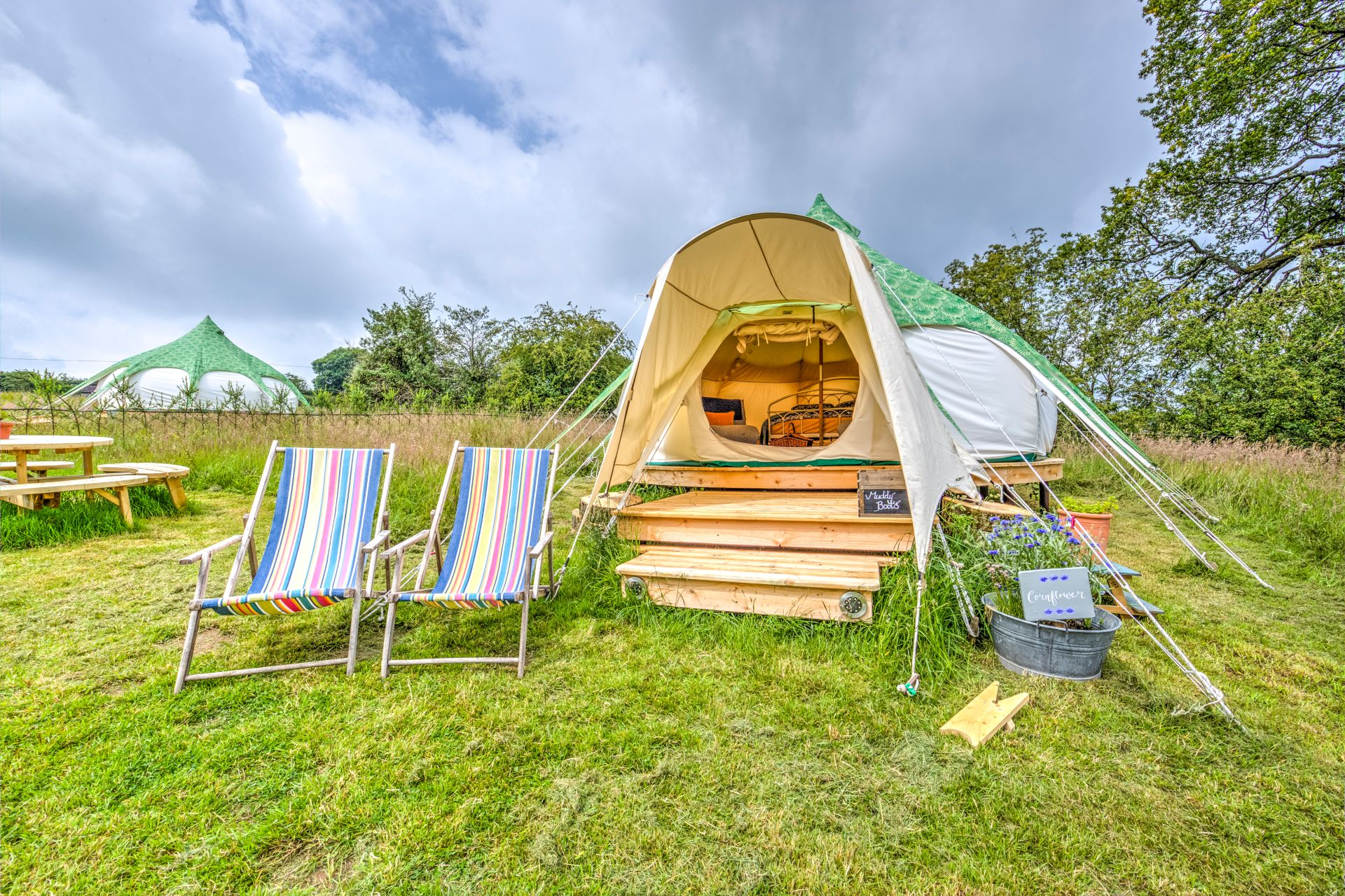 Family Glamping on a Farm | Forest of Dean & Wye Valley