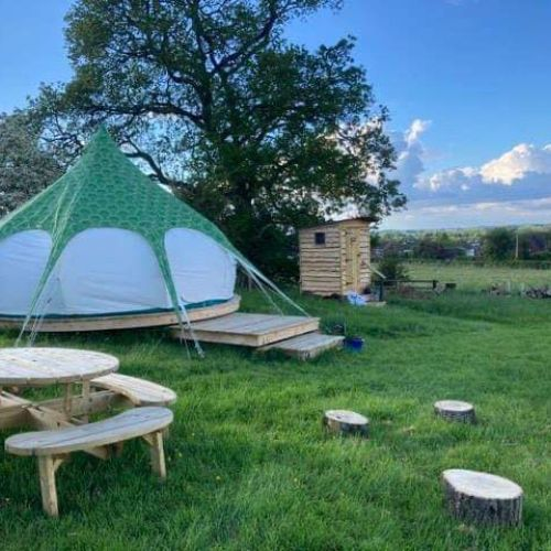 Family Glamping on a Flower Farm | Forest of Dean & Wye Valley